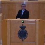 """Jesús Martín se pregunta en el Senado si el """"dislate"""" de llevar la tauromaquia a la Unesco ayuda a la marca España"""