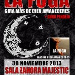Ciudad Real: La Fuga y Gurú Pendejo tocan en Zahora Magestic