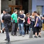 Otros siete denunciados, tres de ellos militantes de IU, por protestar contra Cospedal a las puertas del Museo Provincial de Ciudad Real