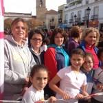 Tomelloso: La directora del Instituto de la Mujer ha participado en la Carrera Popular 'Memorial Ángel Serrano' contra la violencia de género