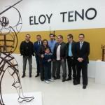 Campo de Criptana rinde homenaje al 'Gigante de la artesanía y escultura', Eloy Teno, con un emotivo acto