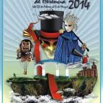 El herenciano Jesús Gómez-Lobo, ganador del concurso del Cartel del Carnaval de Herencia 2014