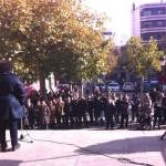 Puertollano: PSOE, IU y sindicatos se concentran en rechazo al proyecto de reforma de la administración local
