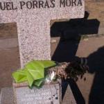 """Pide la retirada de la inscripción """"Murió por España"""" en una cruz que conmemora un asesinato de la Guerra Civil entre Puertollano y Argamasilla"""
