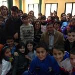 Rosa Romero afirma ante los escolares que la Constitución del 78 «es la única que se ha hecho con la colaboración de todos los partidos políticos y la aprobación de todos los españoles»