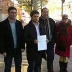 La plana mayor de IU solicita al juez la comparecencia de Cospedal y Marín «para que den la cara» en el juicio contra los acusados de injurias a la presidenta