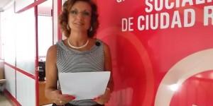 Fátima Serrano, portavoz del PSOE