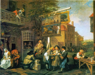 Solicitantes de votos, por Hogarth