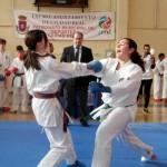 50 niños participaron en el XVI Torneo de Kárate de Navidad del Club Shotokan