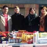 Juventudes Socialistas agradece la solidaridad de los alcazareños en la campaña de recogida de alimentos