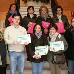 El Concurso de Escaparates Navideños de Almodóvar premia a Amal, Regalos María Luisa y Kálzate