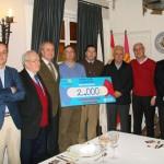 El Club Rotario de Ciudad Real dona 2.000 euros a Cáritas