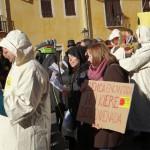 """Cuenca acoge la procesión de la """"Radiactividad del perpetuo recuerdo"""" contra el proyecto de cementerio nuclear en Villar de Cañas"""