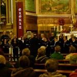 El Coro de Cámara Laminium despidió el año con su tradicional concierto de Navidad