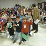 Los alumnos del colegio 'Albuera' de Daimiel celebran un Pleno Infantil