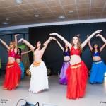 Danza Oriental Alarcos celebra su Festival de Navidad en el Espacio Joven de Ciudad Real