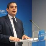 El PP acusa a Nemesio de Lara de utilizar los presupuestos de la Diputación para promocionarse políticamente