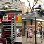Comienza la guerra de las pérgolas en Ciudad Real: El Ayuntamiento retirará otra en la Plaza de Cervantes y requiere al resto que cumpla el condicionado técnico