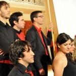 Ciudad Real: El Antiguo Casino rebosa en el concierto del XV aniversario del Coro de Cámara Oretania