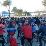 Más de setecientos ciclistas en la tradicional fiesta de la bicicleta de Manzanares