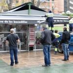 Ciudad Real: El Ayuntamiento retira la pérgola del bar Los Faroles de la Plaza del Pilar