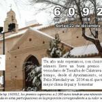 El Ayuntamiento de Torralba, como cada año, juega a la lotería y reparte participaciones de 0.20 euros a todos los empadronados en la localidad