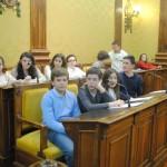 Valdepeñas: 27 niños en representación de 14 centros educativos celebran un pleno infantil para conmemorar el Día de la Constitución