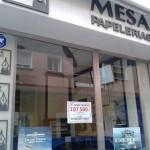 Ciudad Real: Papelería Mesa sella un boleto de Bonoloto premiado con 107.500 euros