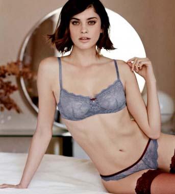 Una de las modelos de la marca (Foto: Women's secret)