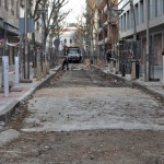 Ciudad Real: Las obras de semipeatonalización de la Avenida del Rey Santo se reanudan tras el parón navideño