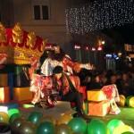 Los Reyes Magos llegaron cargados de ilusión y regalos para los niños criptanenses