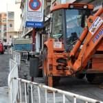 Martín corrige a un «malpensado» Lillo: Las obras de la calle Reyes «no se han adjudicado a la empresa a la que se le están quitando plazas de zona azul»