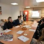 Café temático de AJE Ciudad Real para promover la internacionalización de sus empresas asociadas