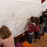 El concejal de Cultura visita en el Museo el Taller Infantil que homenajea al pintor González de la Aleja