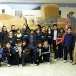 Los estudiantes daimieleños conocen la obra de Ángel González de la Aleja