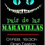 """Manzanares: Las escuelas de teatro de Lazarillo TCE estrenan """"Alicia en el país de las maravillas"""""""