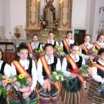 Manzanares: Ana Moraleda Criado, Mayorala de las Fiestas de San Antón