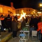 Manzanares: Alta concurrencia a la hoguera y procesión de la Virgen de la Paz