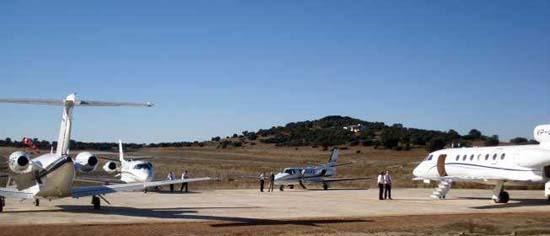 Aeródromo de La Nava (Foto: Lanava.net)