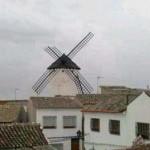 El temporal derrotó a los gigantes de Don Quijote
