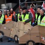 Ciudad Real: Los conductores del Parque Móvil piden a la Junta que eche el freno al plan de recursos humanos que afectará a 76 trabajadores