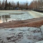 De aquellos polvos, estos lodos: El lago del Parque del Pilar estará «en perfectas condiciones» en primavera
