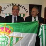 Rafael Gordillo inaugura la Peña Bética de Ciudad Real
