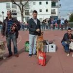 Almagro: Más de sesenta perros se dieron cita en la Jornada de Adiestramiento canino y Concienciación de sanidad animal