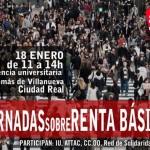 Ciudad Real: Izquierda Unida organiza unas jornadas de renta básica