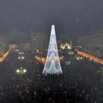 Ciudad Real: Los Reyes Magos alardean de sus poderes con una exhibición de luz y sonido