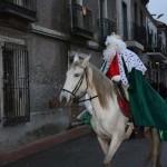 Los Reyes Magos llegan a caballo a Porzuna para llenar de ilusión la localidad