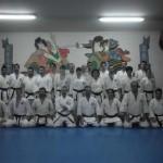 El Club Shotokan de Ciudad Real da la bienvenida al año nuevo con un ritual japonés