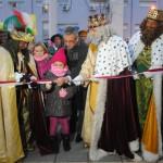 Valdepeñas: Los Reyes Magos inauguraron los Jardines de San Juan Bautista de la Concepción