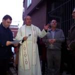 """El obispo de Ciudad Real bendice las nuevas instalaciones de Cáritas Puertollano denunciando el """"zarpazo de la pobreza"""" en la ciudad"""